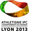 Championnats du monde d'athlétisme handisport LYON 2013 – 19 au 28 juillet 2013