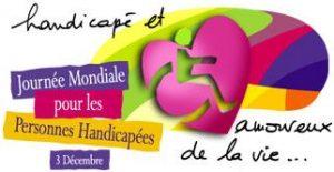 Invitation à la cérémonie du magazine VOULOIR – Jeudi le 03 Décembre 2015 à l'occasion de la Journée Internationale du Handicap