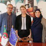 Interview de l'Ambassadrice d'Autriche en Algérie Mme S.E Franziska Honsowitz-Friessnigg le 07-02-2017